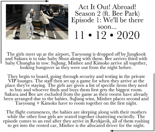 ACT IT OUT! ABROAD! - Episode 1