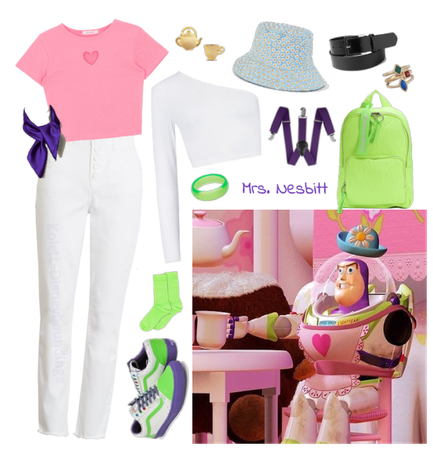 Mrs. Nesbitt (Buzz Lightyear) - Disneybounding