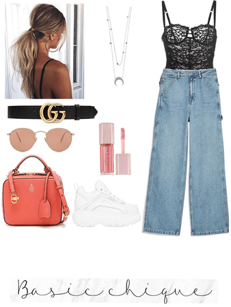 a simple yet stylish look