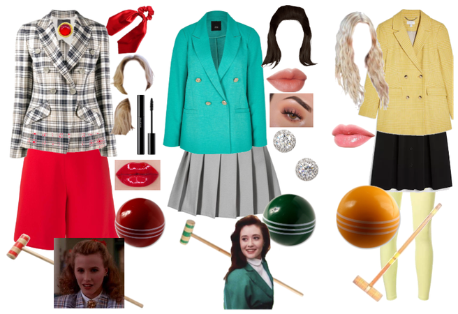 Heathers movie outfits