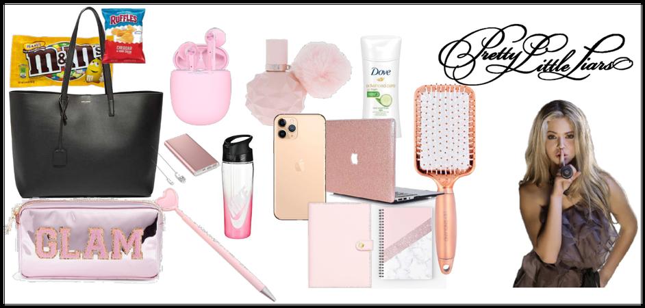 PLL(Alison DIlaurentis) purse essentials
