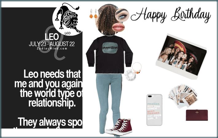 Leo's B-Day #leostyle