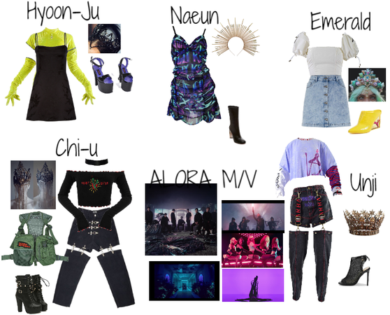DDU-DU DDU-DU M/V Outfits #1 || Fake K-Pop Girl Group ALORA