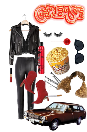 Grease Inspired Outfit