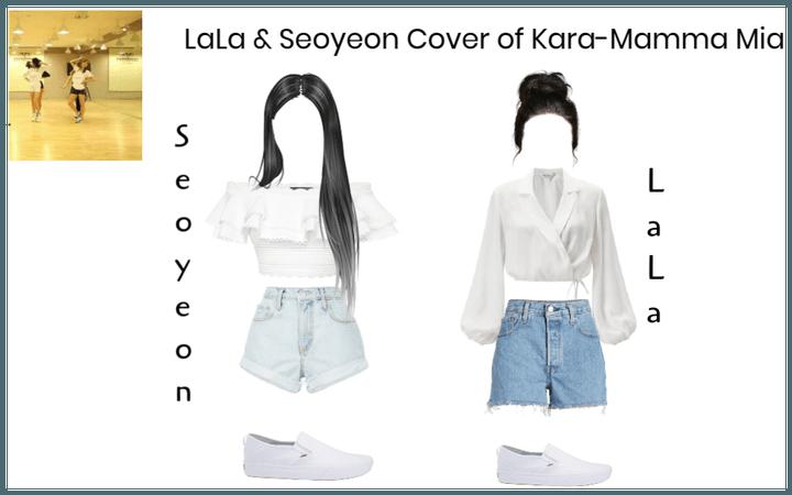 LaLa & Seoyeon Cover of Kara-Mamma Mia
