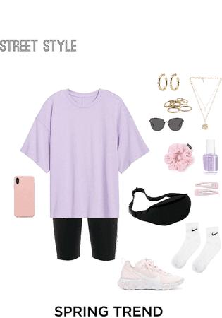 purple street wear 💜🍭🦋🌸🤍