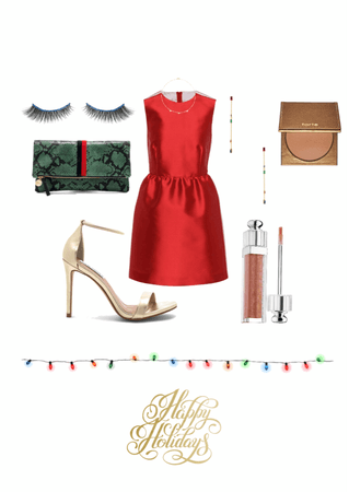 have yourself a merry little (red dress) Christmas