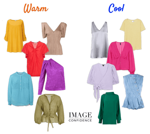 Warm and Cool Tops