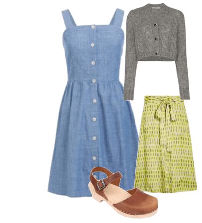 Folk work outfit