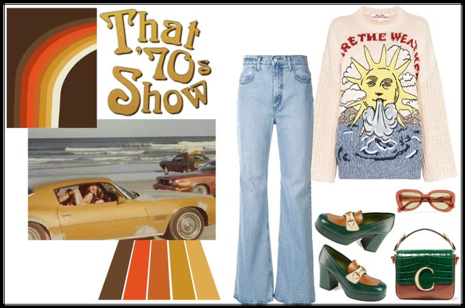 70's spring look (everyday look)