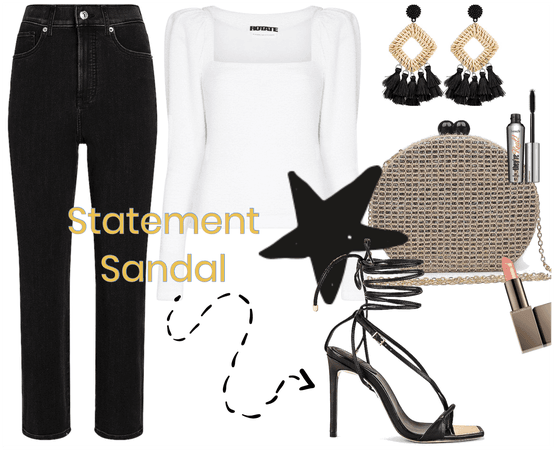 Statement Sandal Outfit