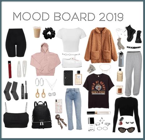 2019 mood board