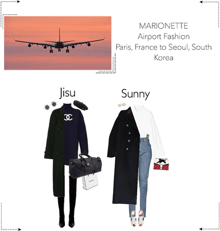 MARIONETTE (마리오네트) Airport Fashion   Paris, France to Seoul, South Korea