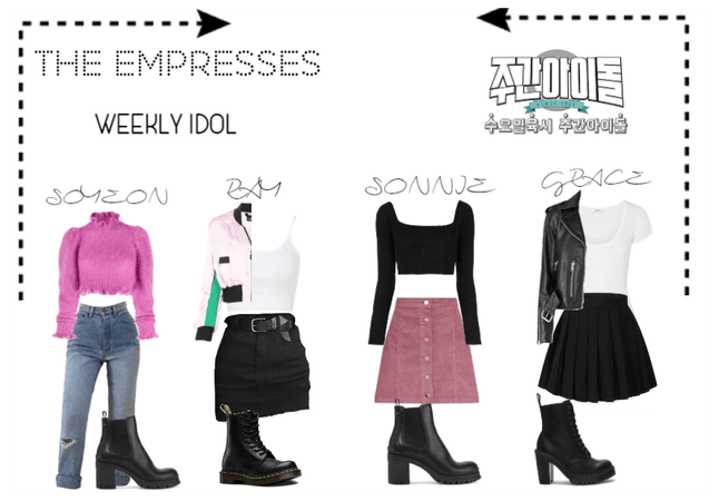 [THE EMPRESSES] ON WEEKLY IDOL