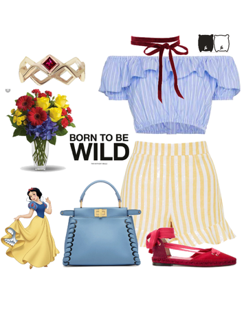 Disney Snow White Inspired First Day of Spring