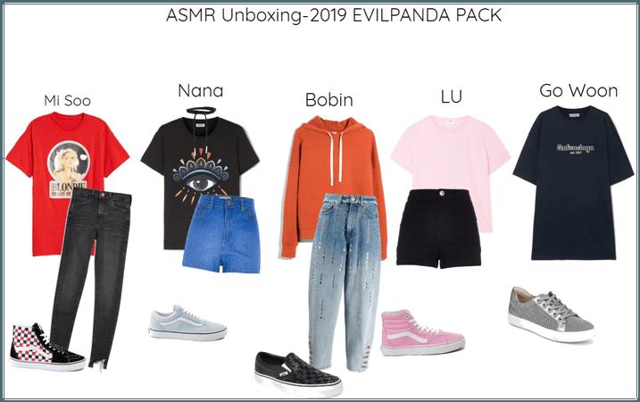 ASMR Unboxing-2019 EVILPANDA Pack
