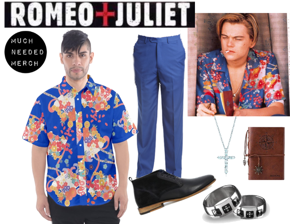 Romeo Floral Shirt Outfit