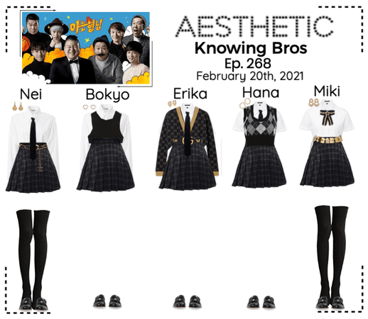 AESTHETIC (미적) [KNOWING BROS]