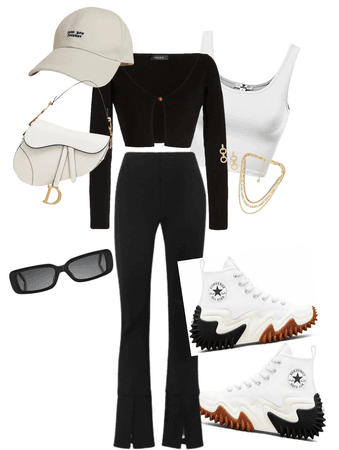 Model Off Duty Outfit #9