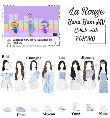 La Rouge X PORORO- Bara Bam (바라밤) [this is not a comeback]