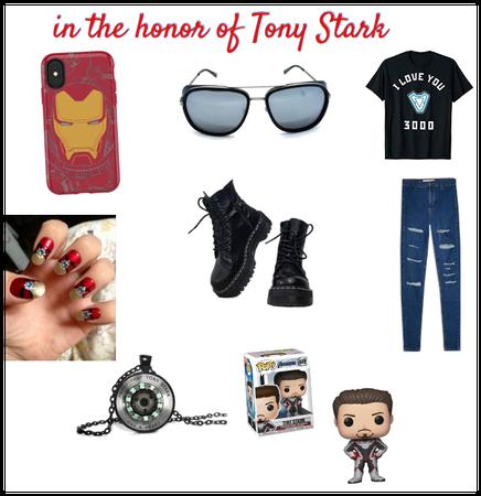 In the honor of Tony Stark aka Iron Man