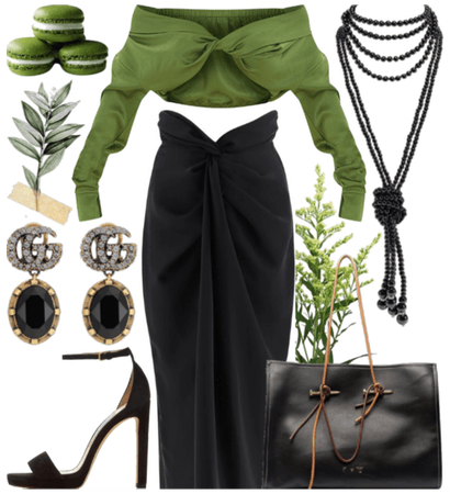 black & green - oc