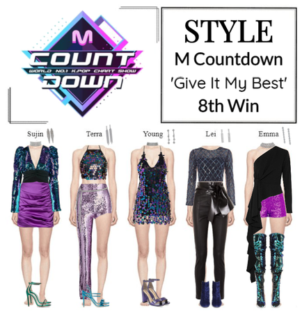STYLE M Countdown 'Give It My Best'