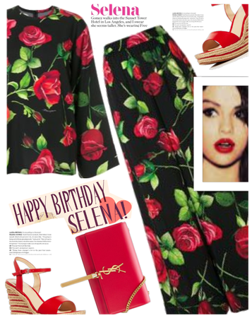 Happy Birthday Selena