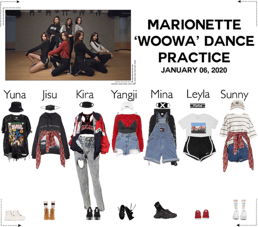 MARIONETTE (마리오네트) 'WOOWA' Dance Practice
