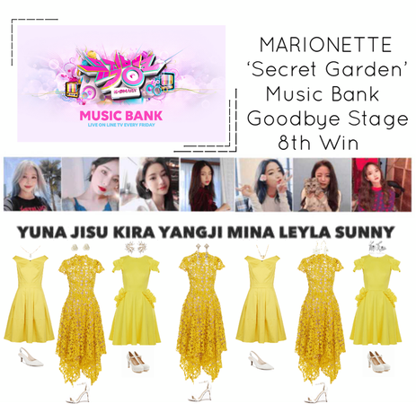 {MARIONETTE} Music Bank Goodbye Stage 'Secret Garden' 8th Win