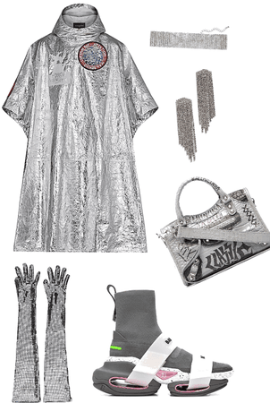 silver couture