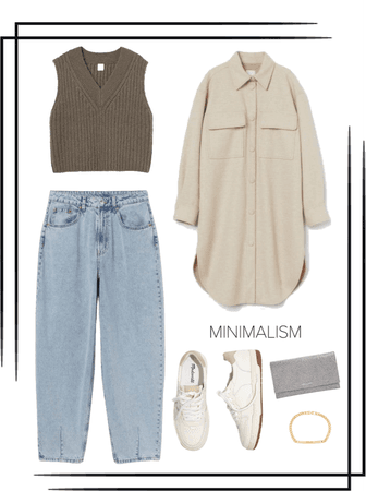 minimal spring outfit