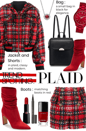 Trend Spotting Plaid