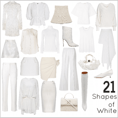 21 Shapes of White