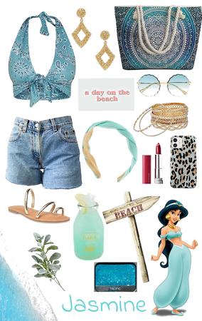 Jasmine- Beach Day