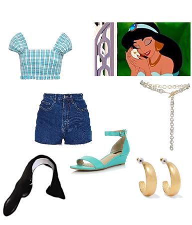 Modern AU — Jasmine