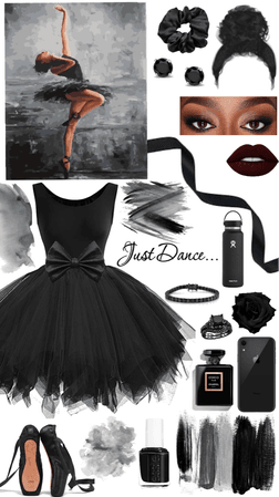 The beautiful black ballerina