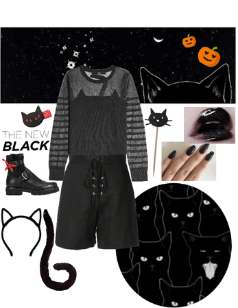 DIY: Black cat reimagined