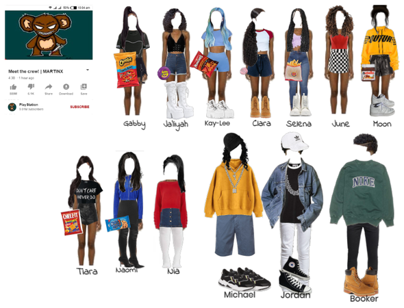 Meet the crew__Outfits