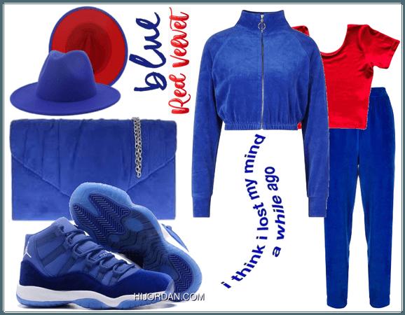 blue red velvet vibe