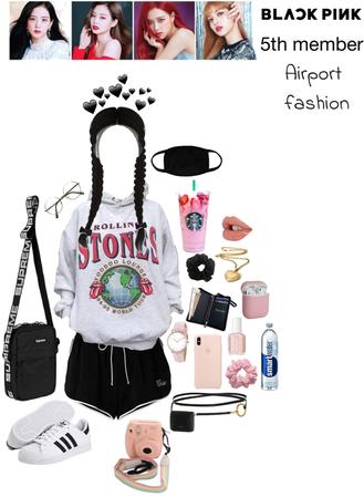 BLACKPINK 5th MEMBER: Airport fashion
