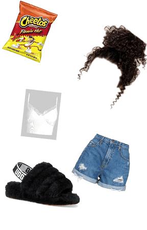 ghetto hot Cheeto girl