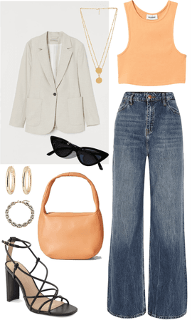 jeans and a cute top? -done-