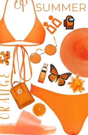 Summer in Orange 🍊 | Bikini 👙