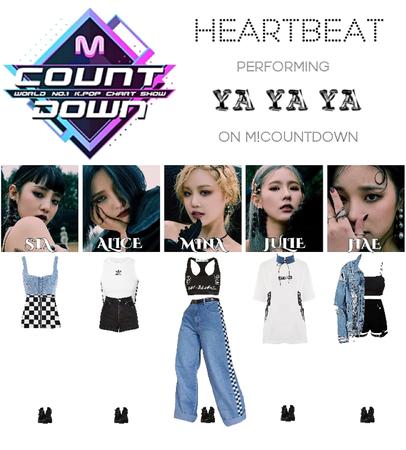 [HEARTBEAT] 200508 M! COUNTDOWN STAGE | 'YA YA YA'