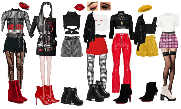 War of Hormone Stage Outfits