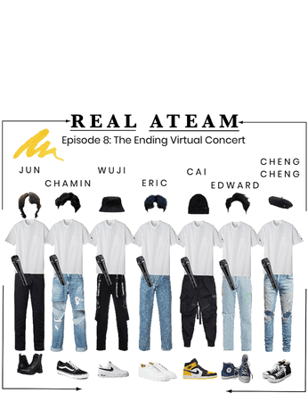 REAL ATEAM: Outfits