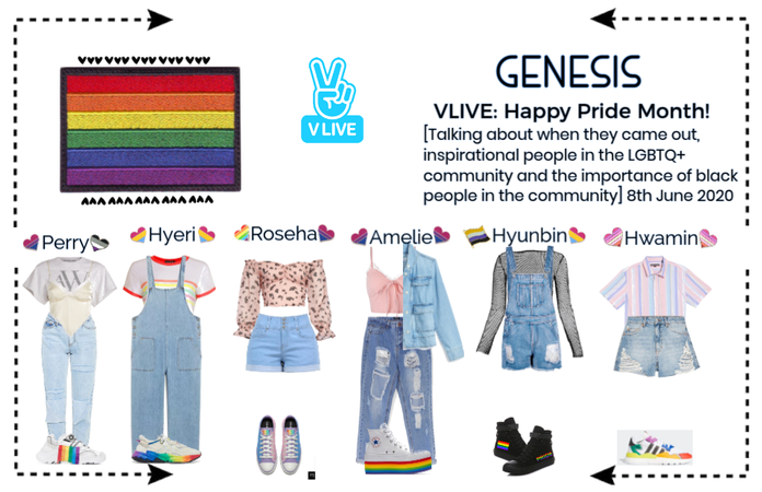 GENESIS (게네시스) - Happy Pride Month VLIVE