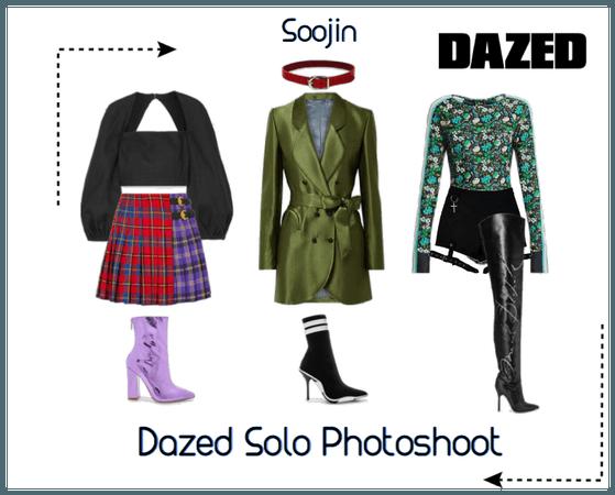 | VELVETMOON | Soojin Solo Dazed Photoshoot