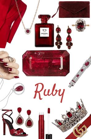 ruby gemstone 💎